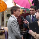 Cliff Richard at the RHS Chelsea Flower Show 2012