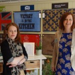 Becca and Sooz - the Turtle team at RHS Chelsea