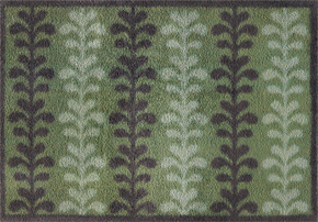 Formal Leaf Turtle Mat