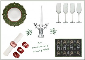 TM Xmas dining table