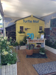 Turtle Mat Chelsea Flower Show Stand 2014