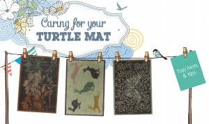 Caring for your Turtle Mat - tips