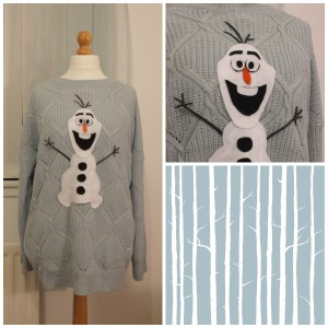 Olaf Frozen DIY Christmas Jumper