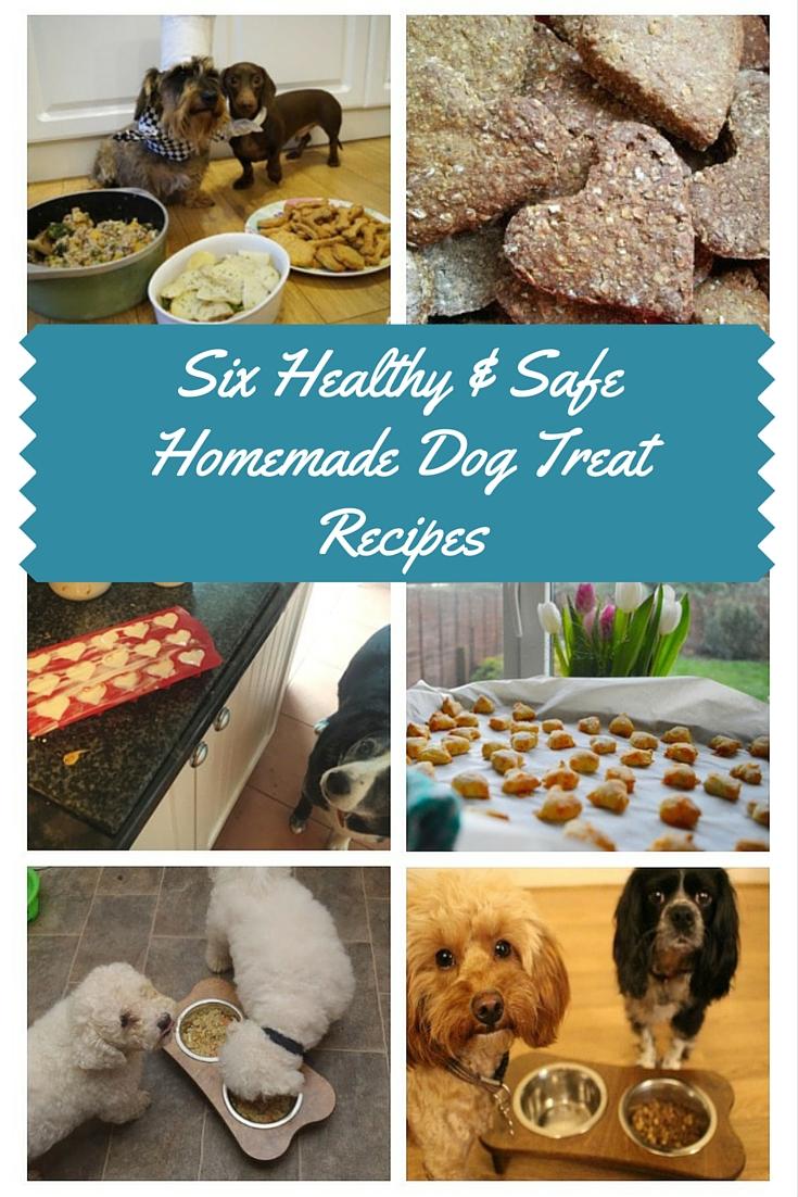 Six Healthy & Safe Homemade Dog Treat Recipes