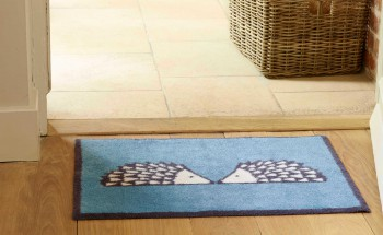 Blue Hedgehog Turtle Mat doormat
