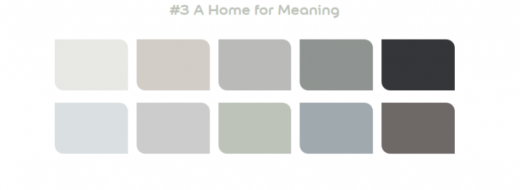 Dulux 2020 Palette 3 - A Home for Meaning