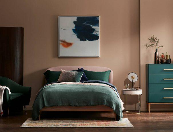 John Lewis Forest Green Bedroom