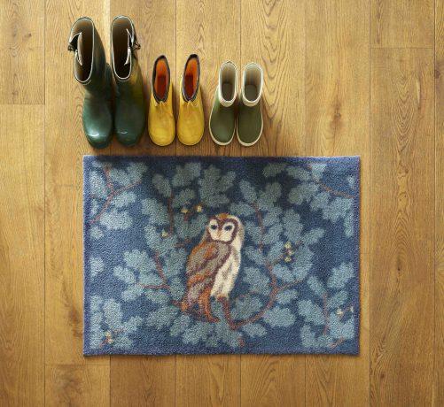 Owl Turtle Mat doormat - Dee Hardwicke Collection
