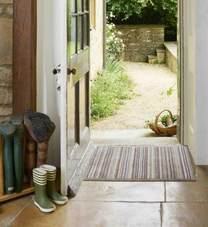 Sandstone Stripe Turtle Mat doormat