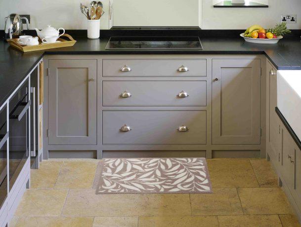 Morris & Co. Turtle Mat doormat in kitchen