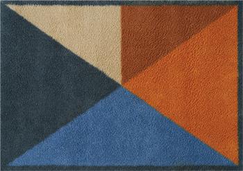 Block Triangles doormat
