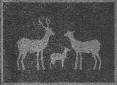 Stag Family Grey -SOLD OUT
