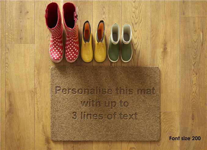 Personalised Mat